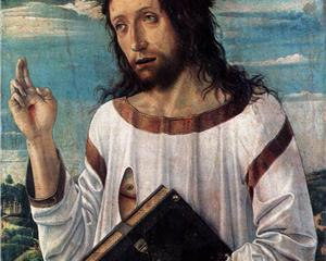 """Christ Blessing"" by Giovanni Bellini, c. 1460"