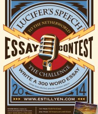 Lucifer's Speech Essay Contest